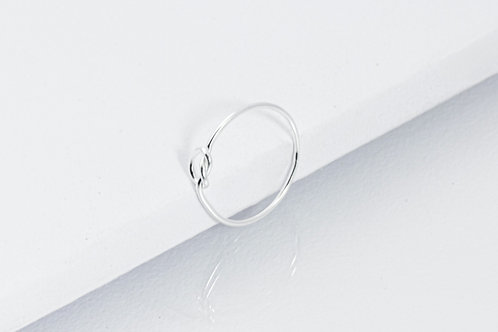 Knot - Silber Ring