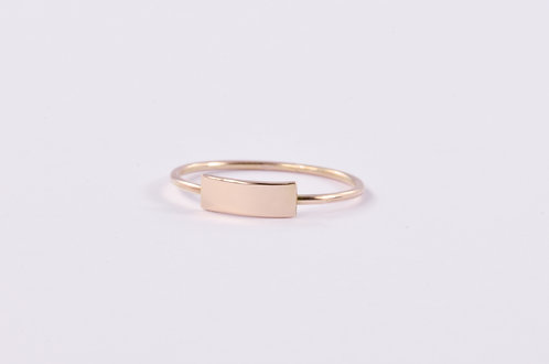 Fair and Square - Gold Ring