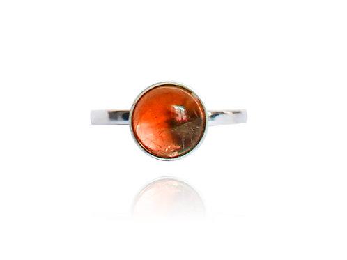 Orange Peel - Silber Ring