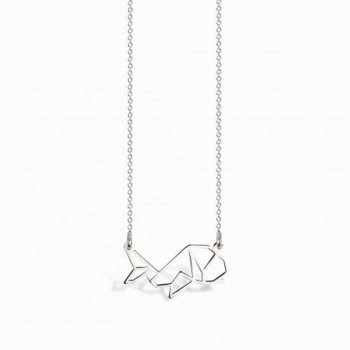 Omura - Silber Halskette