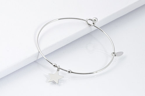 Estella - Silber Armreif