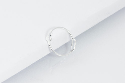 Couple Goals - Silber Ring