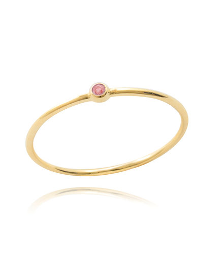 Cotton Candy - Gold Ring