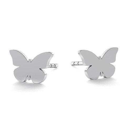 Butterfly - Silber Ohrstecker