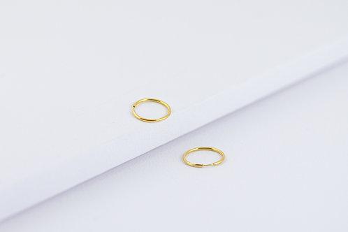 Rosella - Silber Kreolen