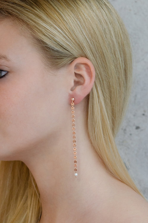 Lauv - Silber Ohrring