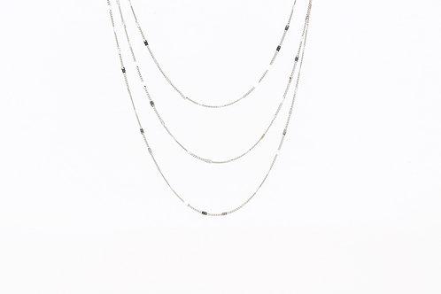 Ava - Silber Halskette