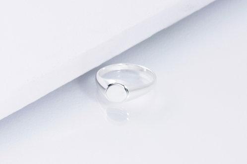 Petite Signet - Silber Ring