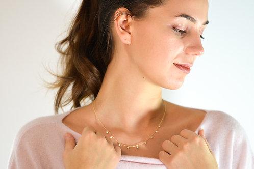 Chloe - Silber Halskette