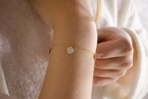 Maja - Silber Armkette