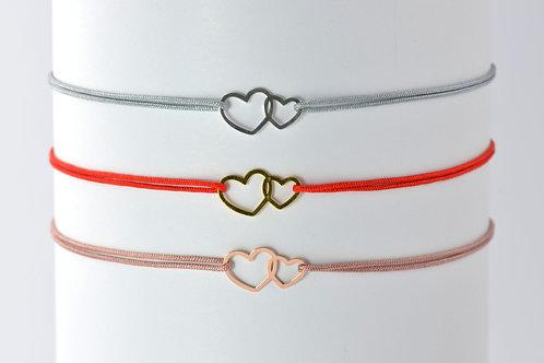 petit coeur - Silber Armband