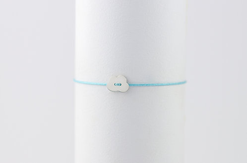 Cloud -Silber Armband
