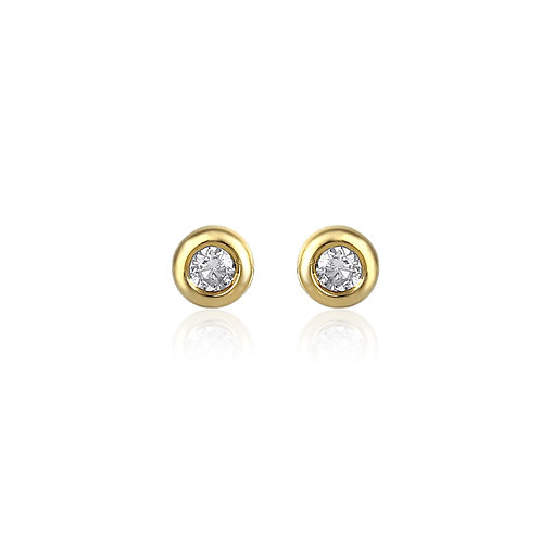 Claire - S - Gold Ohrstecker