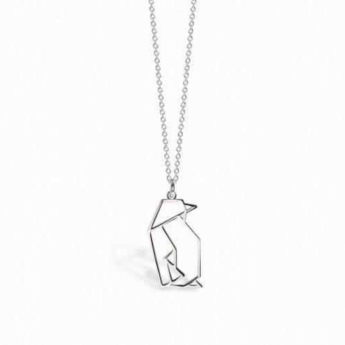 Flipper - Silber Halskette