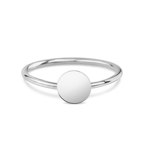 Round - Silber Ring (small)