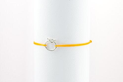 Wish Knot- Silber Armband