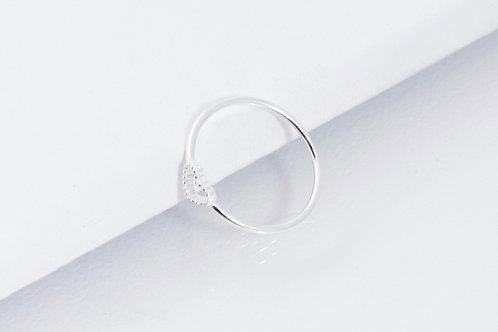 Love - Silber Ring