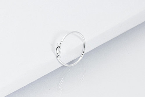 Double Knot - Silber Ring