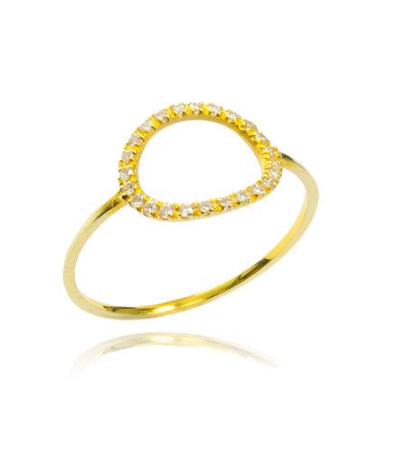 Belle -Gold Ring
