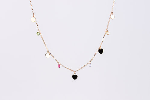 Eleanor - Silber Halskette