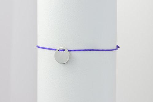 Bella - Gravur Silber Armband