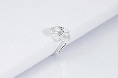 Junia -  Silber Earcuff