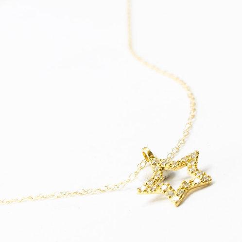Stardust - Gold Halskette