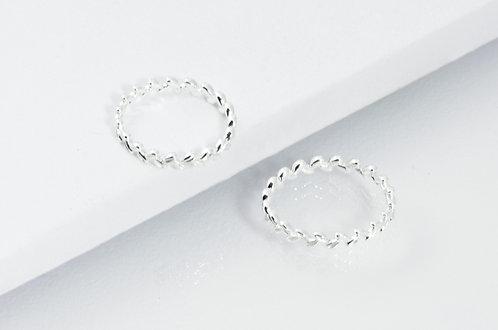 Olive Branch - Silber Ring
