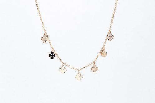 Lucky - Silber Halskette