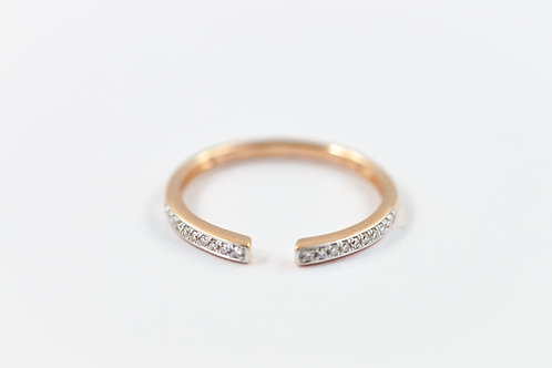 Split - Gold Ring