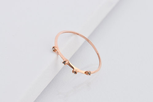 Milkyway - Night - Gold Ring
