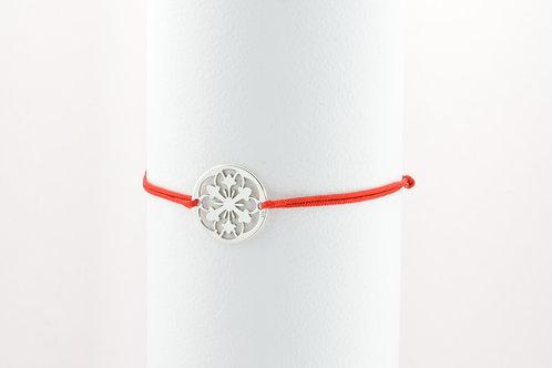 Christmas Flower - Silber Armband