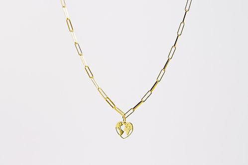 Gaia - Silber Halskette