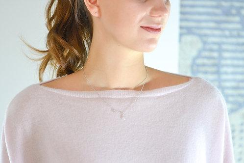 Saint - Silber Halskette