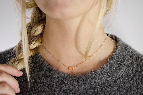 Vanessa - Gold Halskette