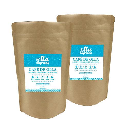 2 pack - Café de Olla