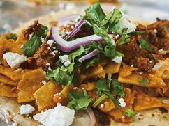 taco chilaquiles
