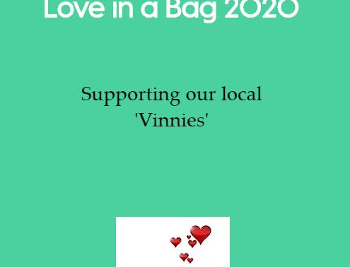 Vinnies 'Love In A Bag' 2020
