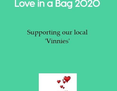 Vinnies 'Love In A Bag' 2020