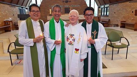Fr John awarded inaugural PMRC Award