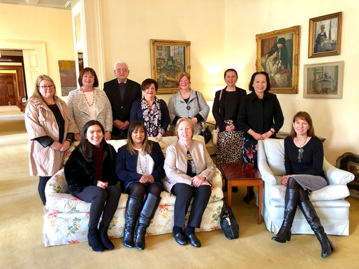 Joyful disciples honoured at Govt House