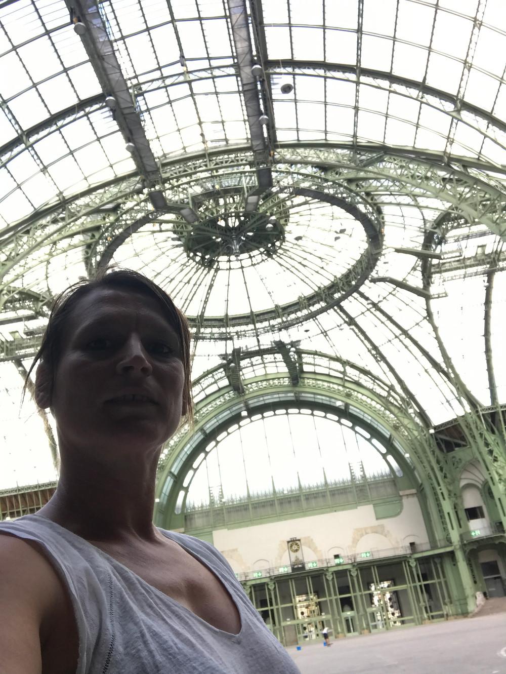 Le Grand Palais vide pour nous!