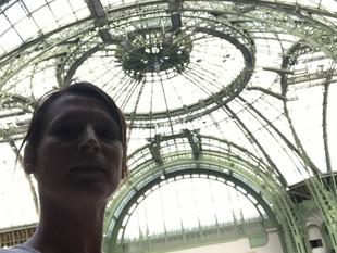 En tournage video Boris Charmatz - Grand Palais - Réal Aldo Lee