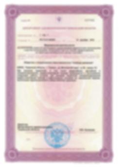 лицензия цента мануальной терапии Свобода движения Тюмень