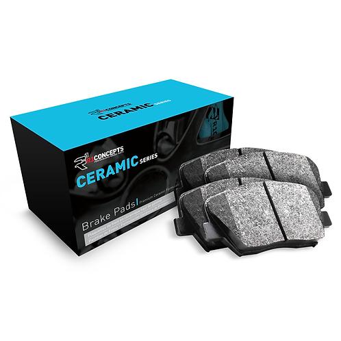 R1Concepts Ceramic Series Brake Pads   2013-2019 Taurus SHO REAR