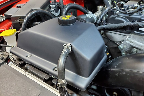 JLT 15-19 Mustang Blk Textured Coolant Tank Cover