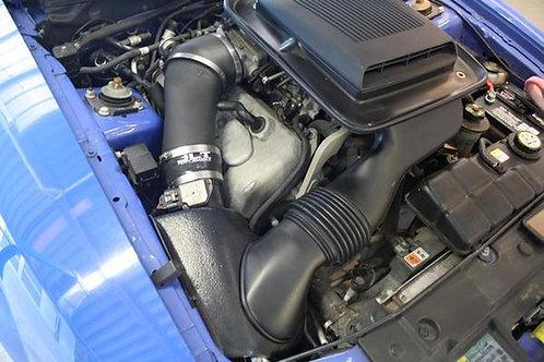 JLT 03-04 Mustang Mach 1 Blk Textured CAI Kit | Red Filter