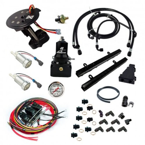 Division X Level 1 Return Style Fuel System | 18+ Mustang 5.0L