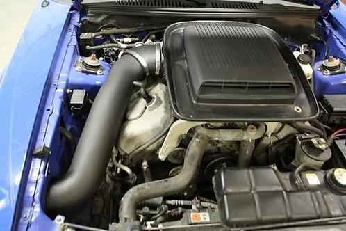 JLT 03-04 Mustang SVT Cobra Blk Textured CAI Kit   Red Filter