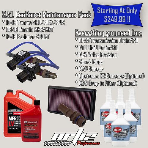 10-19 3.5L Ecoboost AWD Maintenance Pack